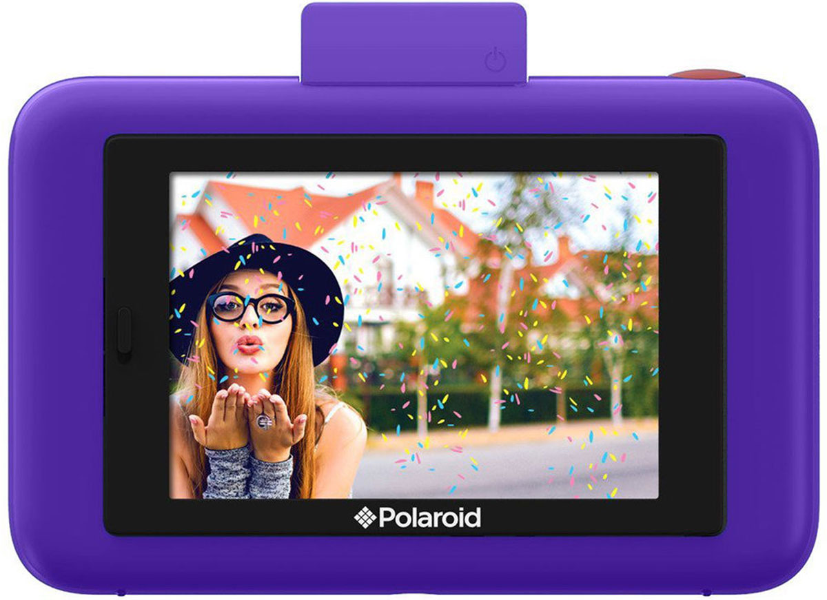 Polaroid Snap Touch, Purpleмоментальная фотокамера