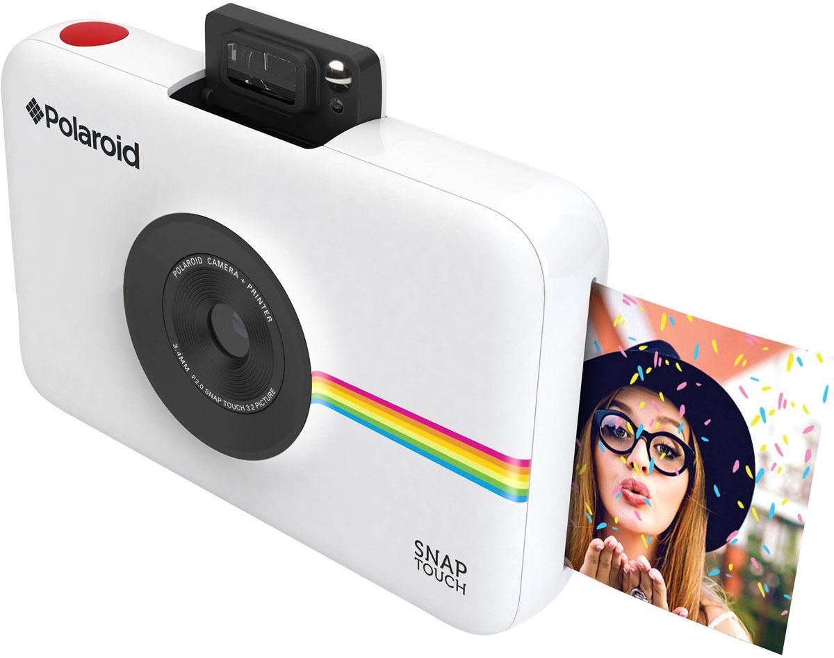 Polaroid Snap Touch, Whiteмоментальная фотокамера Polaroid