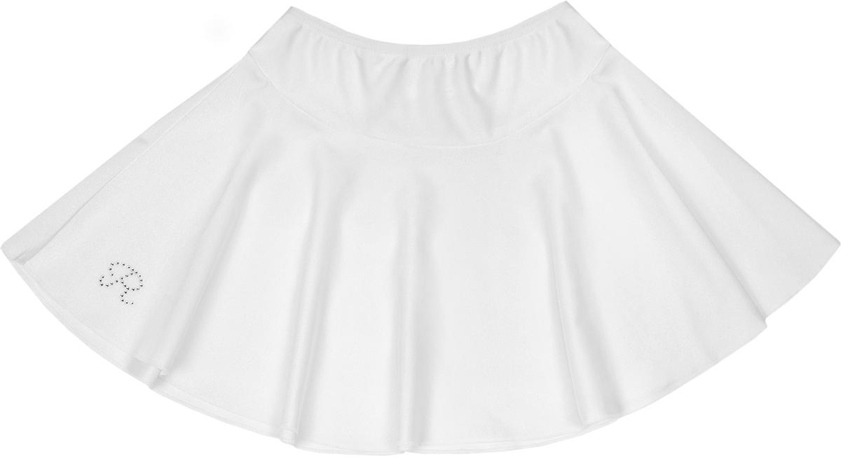 Юбка для девочки Reike, цвет: белый. 702_white. Размер 116702_whiteГимнастическая юбка Reike для занятий гимнастикой, фигурным катанием и танцами. Выполнена из приятного к телу эластичного материала, обеспечивающего достаточный воздухообмен. Кожа в немдышит, и влага выводится, не накапливаясь на ткани.