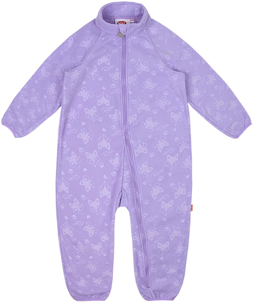 Комбинезон утепленный детский флисовый Reike, цвет: фиолетовый. WL-07_violet. Размер 80WL-07_violet