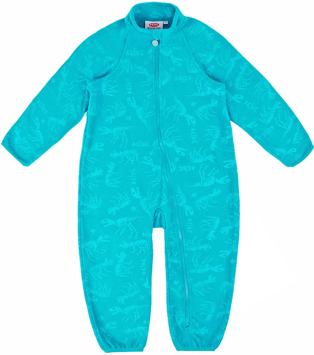 Комбинезон утепленный детский флисовый Reike, цвет: бирюзовый. WL-15_turquise. Размер 92WL-15_turquise