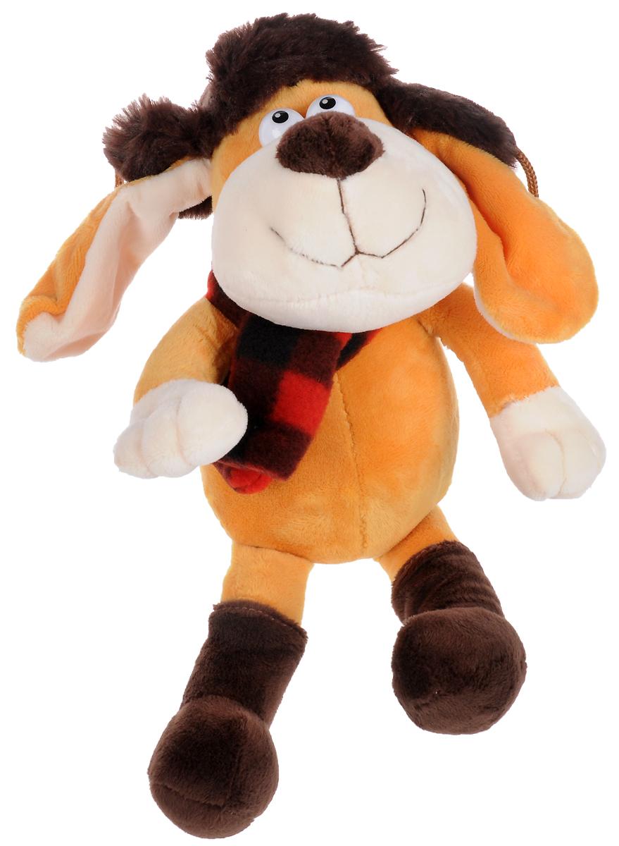 Lapa House Мягкая игрушка Собачка 17 см 56118 малышарики мягкая игрушка собака бассет хаунд 23 см