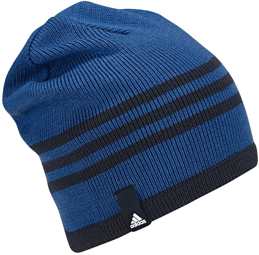 Шапка Adidas Tiro Beanie, цвет: синий. BQ1659. Размер 54/55BQ1659Шапка Adidas Tiro Beanie выполнена из полиакрила. Модель дополнена принтом в полоску.