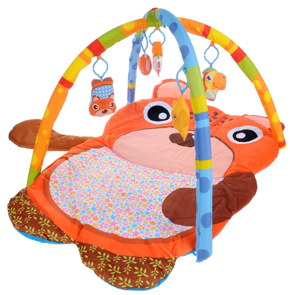 Ути Пути Развивающий коврик Волшебная медведица развивающие коврики где купить