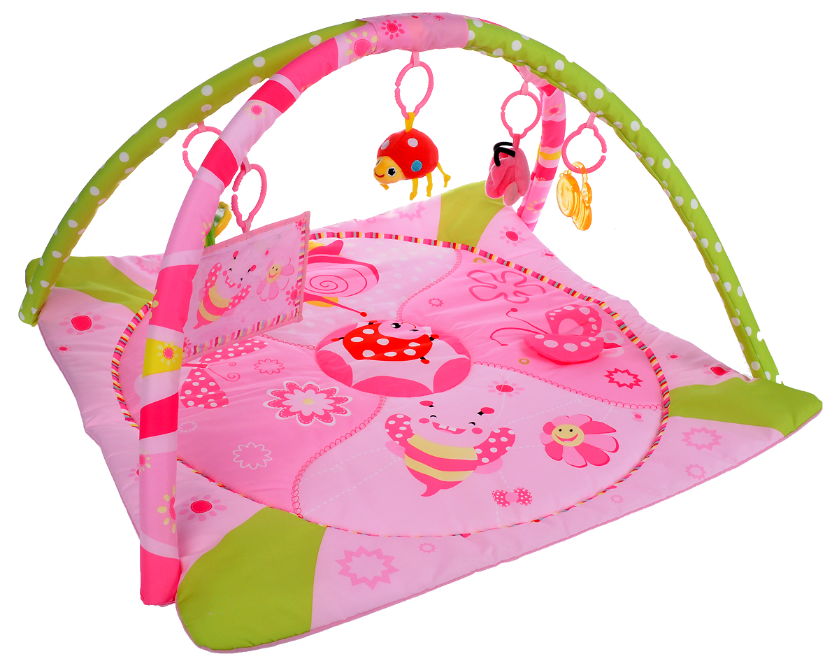 Ути Пути Развивающий коврик с дугами Розовая фантазия игровые коврики mambobaby развивающий коврик морские жители односторонний 200х180х0 5см