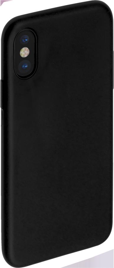 Anycase TPU чехол для Apple iPhone X, Black140048Чехол-накладка Anycase TPU для Apple iPhone X обеспечивает надежную защиту корпуса смартфона от механических повреждений и надолго сохраняет его привлекательный внешний вид. Накладка выполнена из высококачественного термополиуретана, плотно прилегает и не скользит в руках.