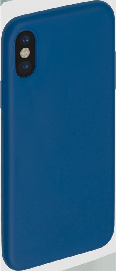 Anycase TPU чехол для Apple iPhone X, Blue140049Чехол-накладка Anycase TPU для Apple iPhone X обеспечивает надежную защиту корпуса смартфона от механических повреждений и надолго сохраняет его привлекательный внешний вид. Накладка выполнена из высококачественного термополиуретана, плотно прилегает и не скользит в руках.