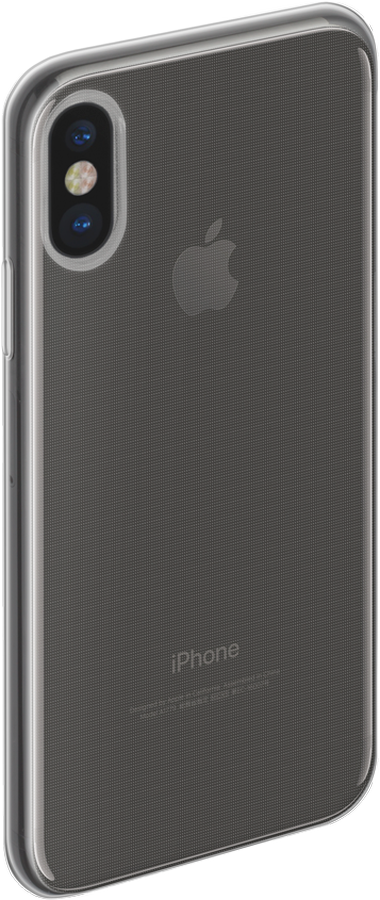 Anycase TPU чехол для Apple iPhone X, Transporant140052Чехол TPU для Apple iPhone X, прозрачный, Anycase