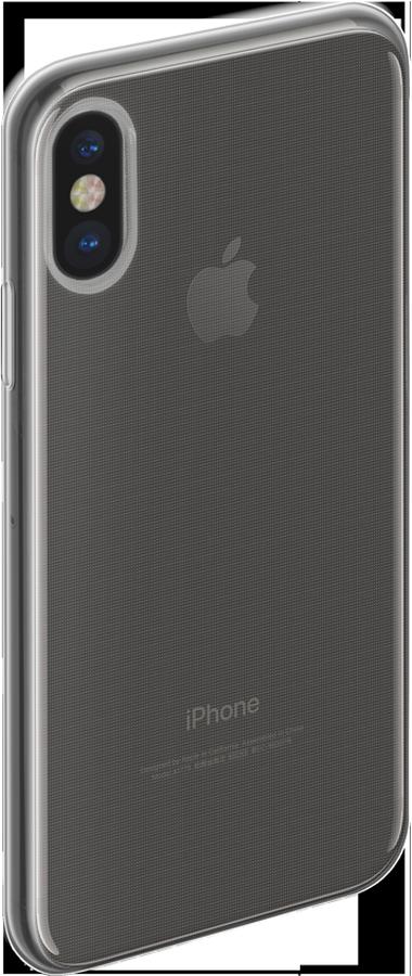 Anycase TPU чехол для Apple iPhone X, Transporant140052Чехол-накладка Anycase TPU для Apple iPhone X обеспечивает надежную защиту корпуса смартфона от механических повреждений и надолго сохраняет его привлекательный внешний вид. Накладка выполнена из высококачественного термополиуретана, плотно прилегает и не скользит в руках.