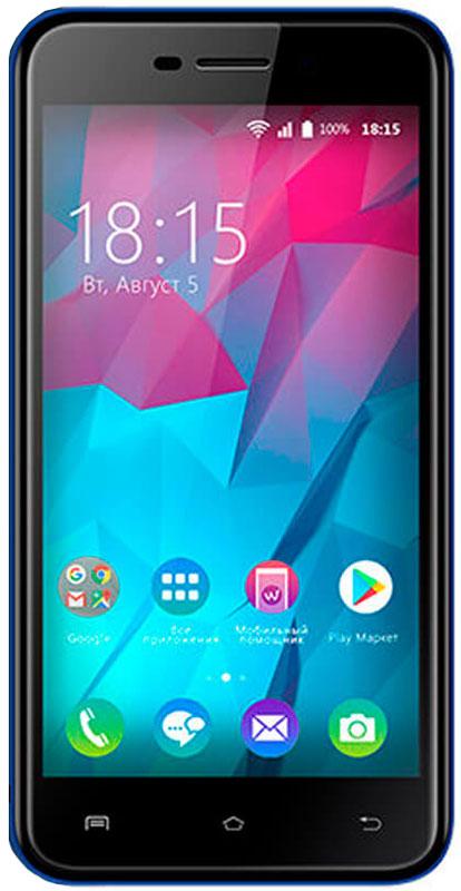 BQ 5000L Trend, Dark Blue85953799BQ представляет новый смартфон BQ 5000L Trend.Одно из главных преимуществ смартфона это яркий 5-дюмовый IPS экран. Вы сможете просматривать видео, в формате высокой четкости наслаждаясь улучшенными углами обзора благодаря применению технологии 2.5D. За эффективное использование всех ресурсов устройства отвечает новейшая ОС Android 7.0.Производительный четырехъядерный процессор и 1 ГБ оперативной памяти позволяет играть в новейшие игры и использовать все современные приложения без зависаний. Девайс поддерживает инновационную технологию VoLTE которая значительно улучшает связь в режиме разговора. 8 Гб встроенной памяти можно увеличить до 32 ГБ используя MicroSD.За качественные снимки отвечают две камеры. Основная с разрешением 8 Мпикс и фронтальная оптика с разрешением 5 Мпикс. Владельцам модели будет доступен высокоскоростной интернет 4G/LTE.Смартфон сертифицирован EAC и имеет русифицированный интерфейс меню и Руководство пользователя.