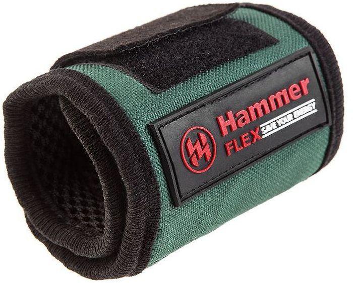 Строительный браслет Hammer Flex 230-013, магнитный, средний312203Строительный браслет Hammer Flex 230-013 магнитный средний