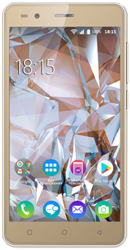 BQ 5054 Crystal, Gold