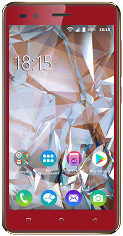 BQ 5054 Crystal, Red