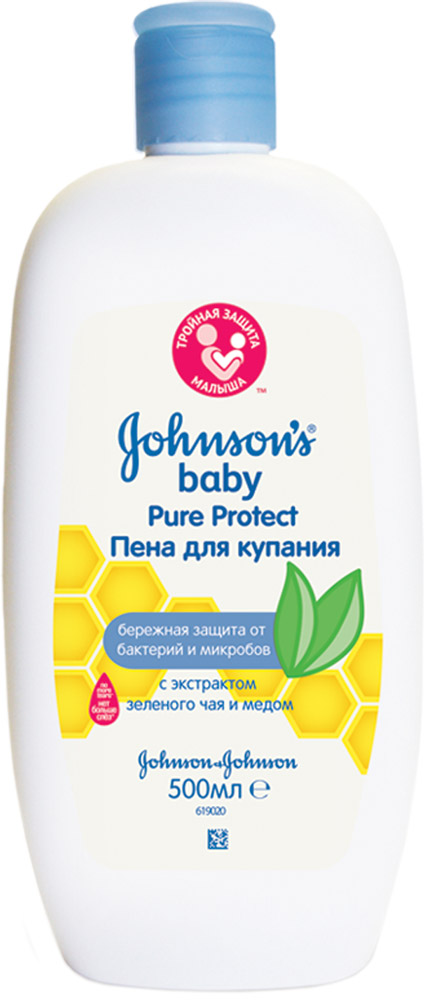 Johnson's baby Pure Protect Детская гель-пена для душа 300 мл tl 300 digital lcd air temperature anemometer air velocity wind speed meter