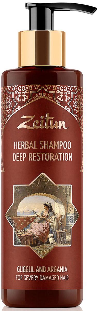 Зейтун Глубоко-восстанавливающий фито-шампунь для сильно поврежденных волос, c арабским миртом и арганой, 200 млZ4331Сила целебных трав до того чудодейственна, что способна возродить и преобразить даже самые поврежденные и безжизненные волосы.И в этом секрет фито-шампуня Зейтун для глубокого восстановления: ведь он создан на основе концентрированного травяного отвара, полностью заменяющего обычную воду, обладает свойствами ценных ухаживающих масел и содержит растительные протеины для структурного восстановления.Уже после первого применения ваши волосы оживают, приобретают восхитительный блеск и превращаются из соломки в мощную, полную энергии волну красоты и здоровья! Восстановление волос – это, в первую очередь, глубокое проникновение в структуру волосяного стержня и заполнение его поврежденных участков необходимым органическим веществом. Поэтому фито-шампунь содержит компоненты с самым близким волосяной структуре составом:- Масло арганы и масло ши мгновенно увлажняют, реабилитируют волосы после повреждений и восстанавливают волосяной стержень изнутри.- Отвар алтея, бессмертника и льна – природный источник белков и полисахаридов, которые обеспечивают волосам мощнейшее восстановление и укрепление по всей длине. - Растительный кератин и протеины пшеницы – строительный материал для ваших волос: они восполняют недостаток естественного кератина, заполняют структурные повреждения, возвращая каждому волоску плотность и однородность.- Экстракт арабского мирта богат воском и смолами, защищает их от УФ-лучей, воздействия фена и инструментов укладки.Фито-шампунь Зейтун не содержит SLS, SLES, парабеновых консервантов и минеральных масел. Он великолепно мылится благодаря экологичному ПАВ, добываемому из мякоти кокоса, а натуральный комплекс из мыльных орехов, сапонарии и акации делает очищение волос максимально мягким и эффективным.
