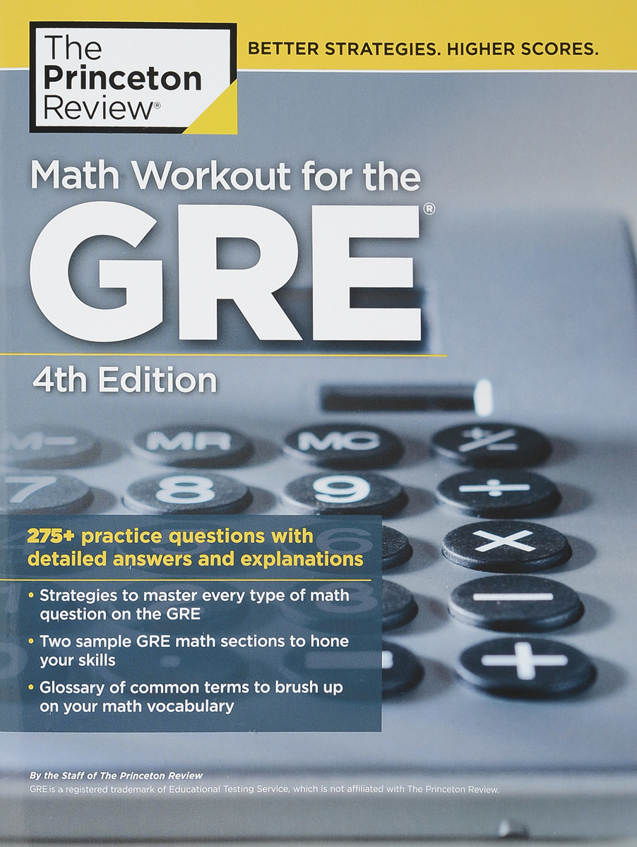 Math Workout for the GRE gre verbal and writing chinese edition