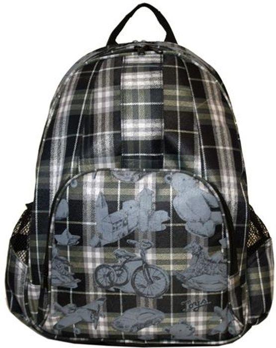 Сумка-рюкзак Antan, цвет: серый, синий. 6013 сумки antan сумка