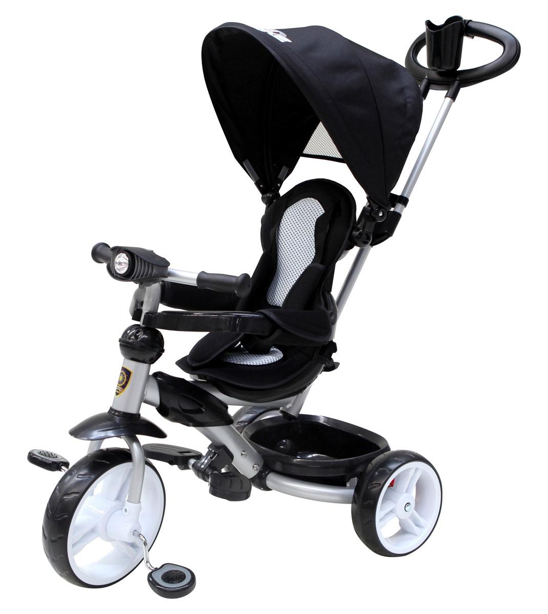 Navigator Трехколесный велосипед Lexus цвет черный navigator самокат двуколесный цвет черный оранжевый