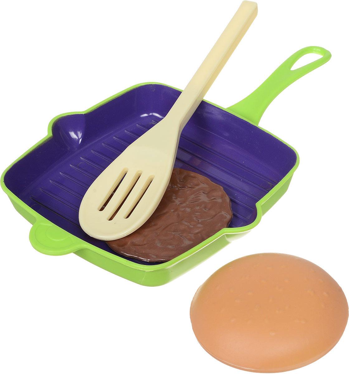 ABtoysИгровой набор Посуда и продукты 4 предмета ABtoys