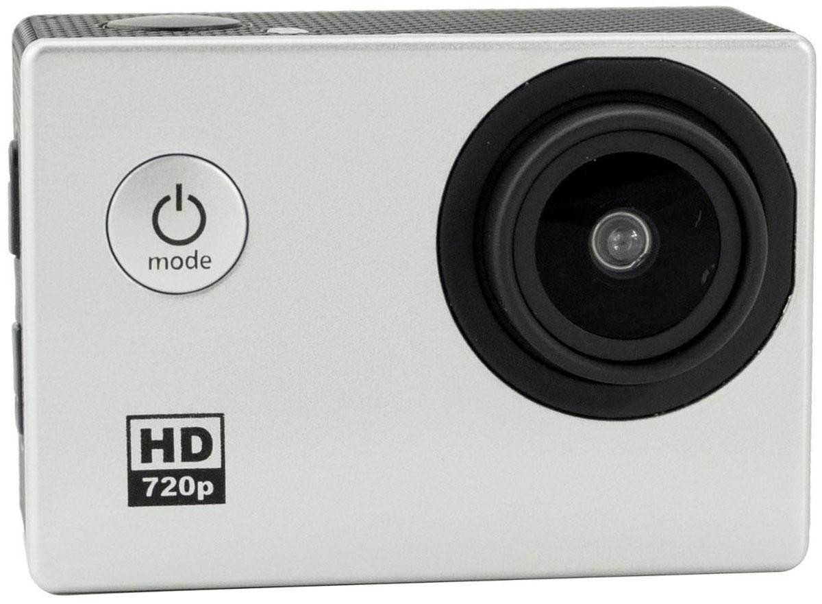 Prolike HD, Silver экшн-камераPLAC002SLЭкшн-камера Prolike HD - это маленькая эргономичная видеокамера, прочная и надежная, созданная специально для запечатления самых ярких моментов приключений. Выдерживает сложные условия съемки, скорость, перепады температур благодаря конструктивным особенностям и техническим характеристикам.Обычная видеокамера не выдерживает сложные условия съемки, скорость, перепады температур, тогда как экшн-камера Prolike HD благодаря конструктивным особенностям и техническим характеристикам легко справляется с этими задачами.Важным преимуществом камеры является маленький вес и миниатюрные габариты, способствующие фиксации устройства на теле спортсмена, не стесняя свободы движений. Для установки камеры предусмотрены дополнительные аксессуары и крепления, которыми комплектуется камера.Прочность и надежность при высоких нагрузках обеспечивает влагозащитный и противоударный корпус камеры, а дополнительный защитный аквабокс предназначен для подводных съемок.