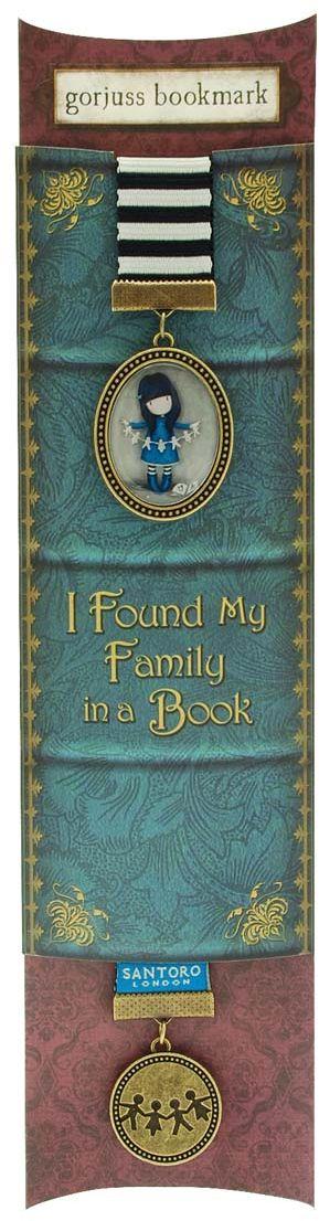 Santoro Закладка Chronicles - Family in a Book0012738Обязательный аксессуар для любого читателя!С этой закладкой Santoro вы не потеряете нужную вам страницу!Длина 38,5 см, ширина 3 см.