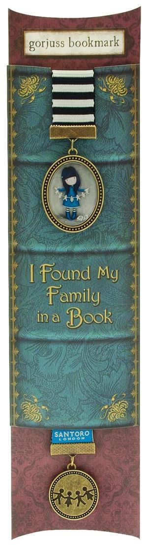 Santoro Закладка Chronicles - Family in a Book, Santoro London