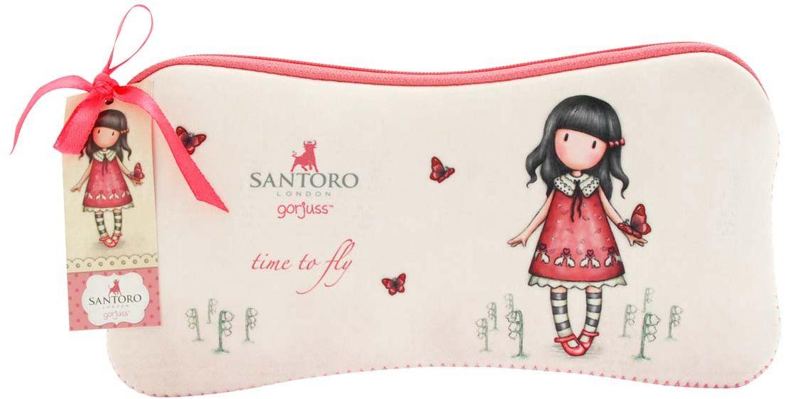 Santoro Пенал Time to Fly0013121Милый пенал с девочкой Gorjuss для хранения своих канцелярских принадлежностей!Каждый пенал выполнен вручную.