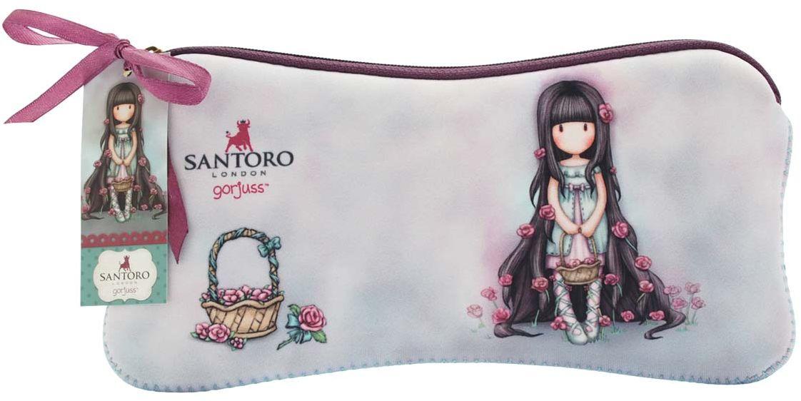 Santoro Пенал Rosie0013122Милый пенал с девочкой Gorjuss для хранения своих канцелярских принадлежностей!Каждый пенал выполнен вручную.