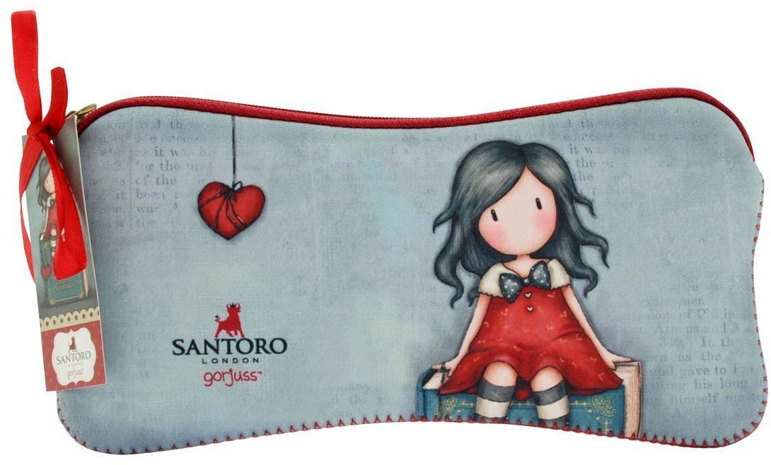 Santoro Пенал My Story0013124Милый пенал с девочкой Gorjuss для хранения своих канцелярских принадлежностей! Каждый пенал выполнен вручную.