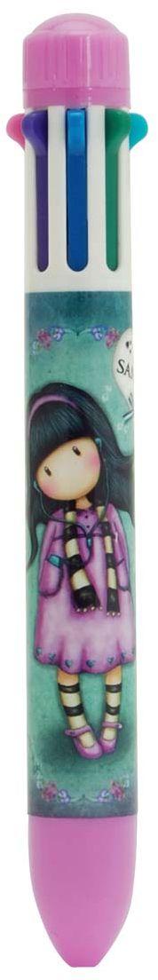 Santoro Ручка шариковая Little Song 8 цветов0099048Ручка от Santoro, которой можно писать и рисовать в 8 цветах!