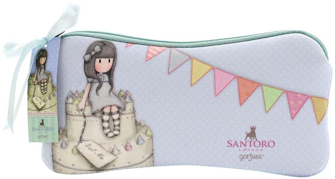 Santoro Пенал Sweet Cake271GJ19Милый пенал с девочкой Gorjuss для хранения своих канцелярских принадлежностей! Каждый пенал выполнен вручную.