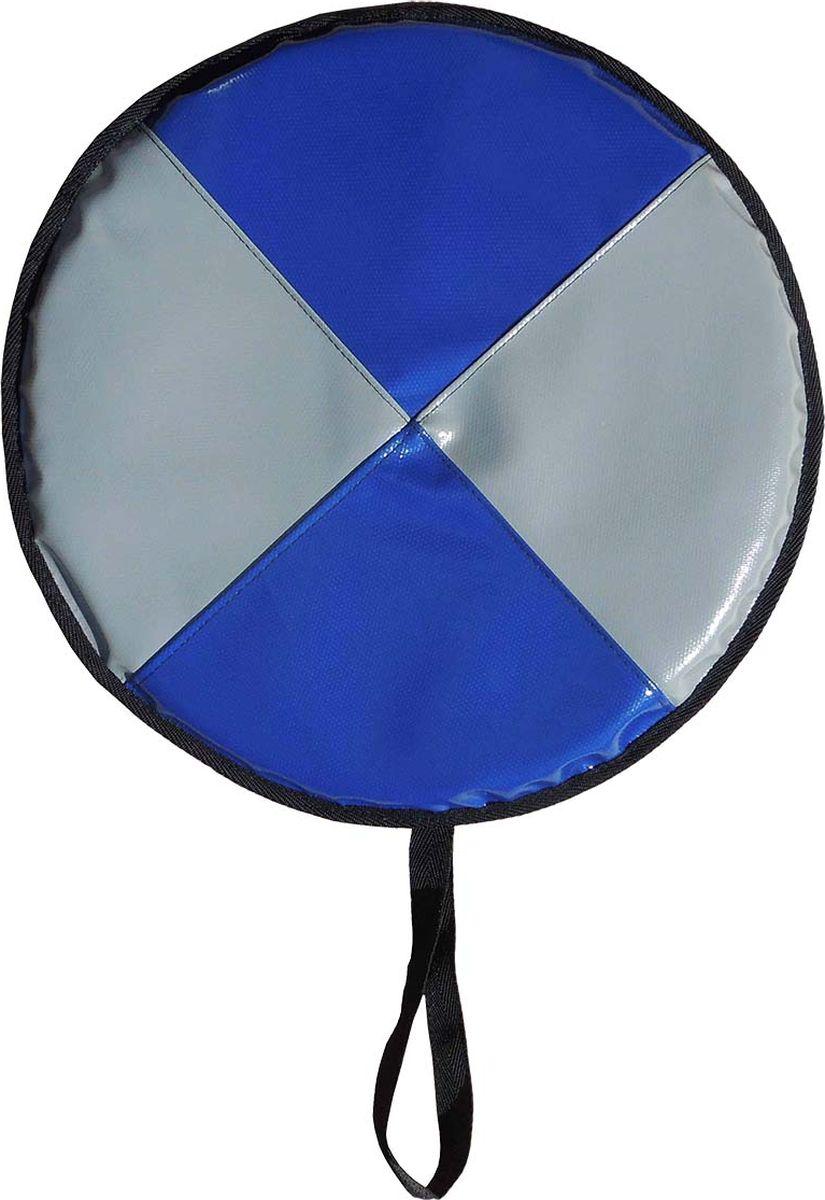 Ледянка мягкая Эх, Прокачу! Профи-20, цвет: серый, синий, 35 смЛП35-20-4Санки-ледянки предназначены для катания по снегу, льду.Материал: тент-тент. Уплотнитель: вспененный полиэтилен.