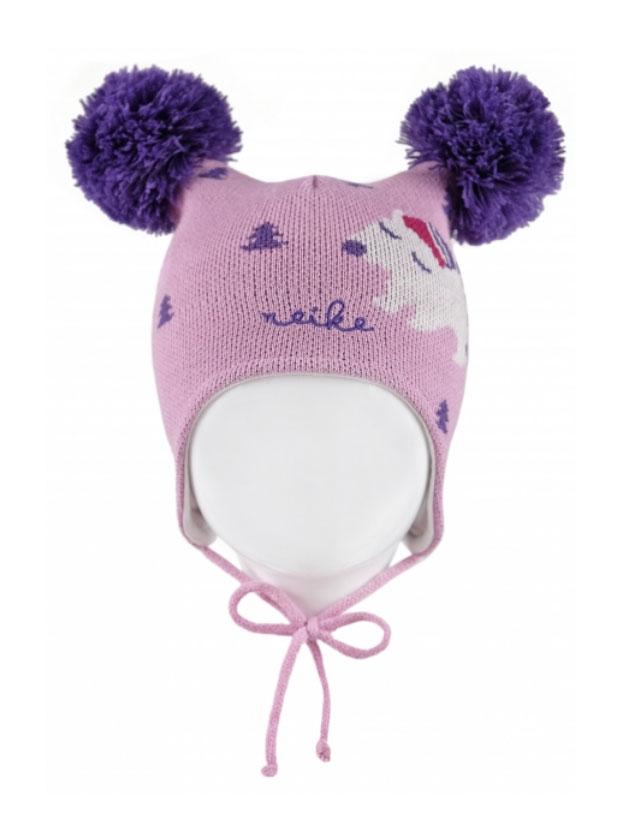 Шапка для девочки Reike Полярный мишка, цвет: розовый. RKN1718-1_PBR pink. Размер 40RKN1718-1_PBR pinkШапка на завязках Reike Полярный мишка изготовлена из высококачественного материала на основе шерсти и акрила. Модель с хлопковой подкладкой дополнительно утеплена на ушках. Шапочка с двумя объемными помпонами украшена рисунком в стиле коллекции и вышивкой логотипа Reike.Уважаемые клиенты!Размер, доступный для заказа, является обхватом головы.