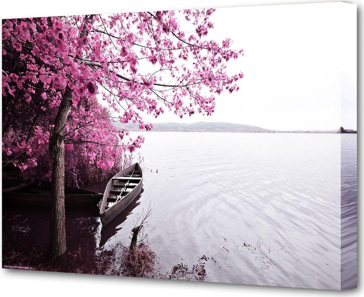 Картина холст Milarte, 50 х 75 см. S-4202HS-4202HКартина на холсте - это яркий и эффективный предмет украшения интерьера. Это достигается благодаря трем факторам: - фактурной поверхности, синтетического полотна, подобранного по аналогии с натуральным холстом; - технологии высококачественной печати изображения, превращающей картинку с экрана монитора, в профессиональную имитацию работы художника и мазков краски; - красивые прорисованные картинки или эстетические фотографии. В итоге вы получаете, готовую работу, которая не уступает по силе эмоций живописным картинам.