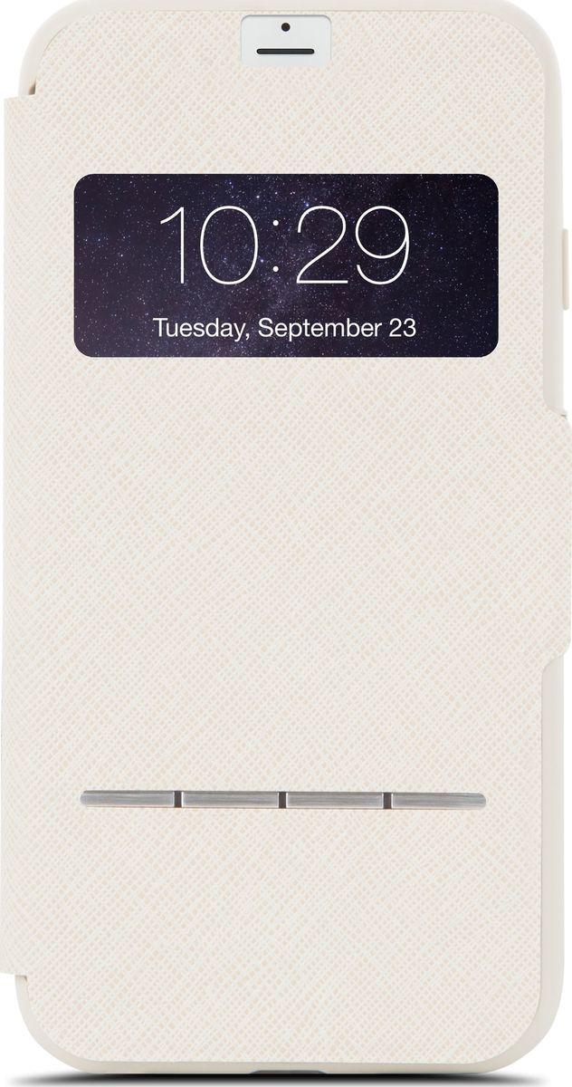 Moshi SenseCover чехол для iPhone 7 Plus/8 Plus, Sahara Beige чехол книжка moshi sensecover для apple iphone 6 plus 6s plus