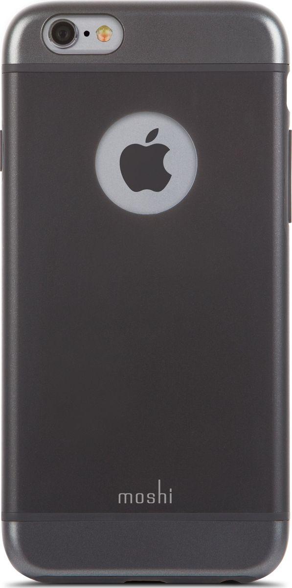 Moshi iGlaze чехол для iPhone 6/6S, Graphite Black99MO079001iGlaze совмещает дизайн в стиле минимализма и максимальный уровень защиты гаджета, предохраняя iPhone от ударов, падений и царапин. Собственная гибридная конструкция с ударопоглащающим покрытием и противоударным каркасом. Легкий и долговечный чехол, сохраняющий эстетику оригинального iPhone. Доступен в двухцветных гаммах, а также в прозрачном исполнени. iGlaze обеспечивает защиту iPhone и идеально сочетается с его элегантным ненавязчивым дизайном.ХарактеристикиСобственная гибридная конструкция обеспечивает полное поглощение воздействий от ударов и защиту от царапин.Изящная и очень надёжная конструкция, обеспечивает полную защиту и сохраняет доступ к кнопкам регулировки громкости и управления питанием.Приподнятые края чехла защищают iPhone, даже когда он лежит дисплеем вниз.Особое покрытие, обеспечивающее прекрасный внешний вид на протяжении долгого времени.???Прошёл необходимые испытания на предмет защиты устройства от различных видов воздействия.
