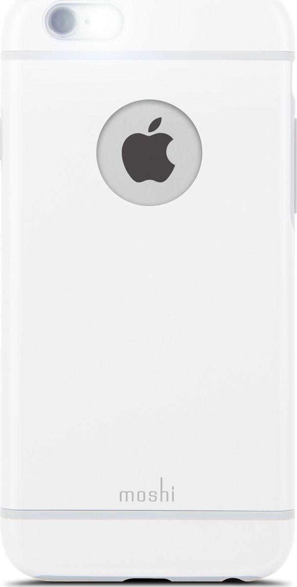 Moshi iGlaze чехол для iPhone 6/6s, Pearl White99MO079102Moshi iGlaze совмещает дизайн в стиле минимализма и максимальный уровень защиты гаджета, предохраняя iPhone от ударов, падений и царапин. Собственная гибридная конструкция с ударопоглощающим покрытием и противоударным каркасом. Легкий и долговечный чехол сохраняет эстетику оригинального iPhone.iGlaze обеспечивает защиту iPhone и идеально сочетается с его элегантным ненавязчивым дизайном.
