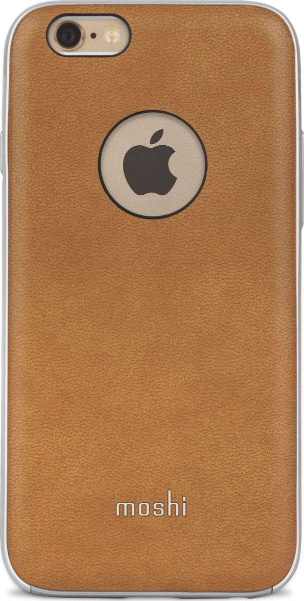 Moshi Napa кейс для iPhone 6/6S, Beige чехол для iphone moshi iglaze napa charcoal black 99mo090003