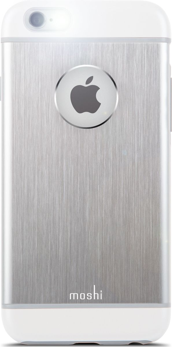 Moshi Armour чехол для iPhone 6/6S, Silver under armour un001emojf76