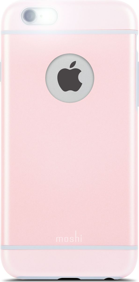 Moshi iGlaze чехол для iPhone 6/6s, Carnation Pink чехол для iphone moshi iglaze napa charcoal black 99mo090003