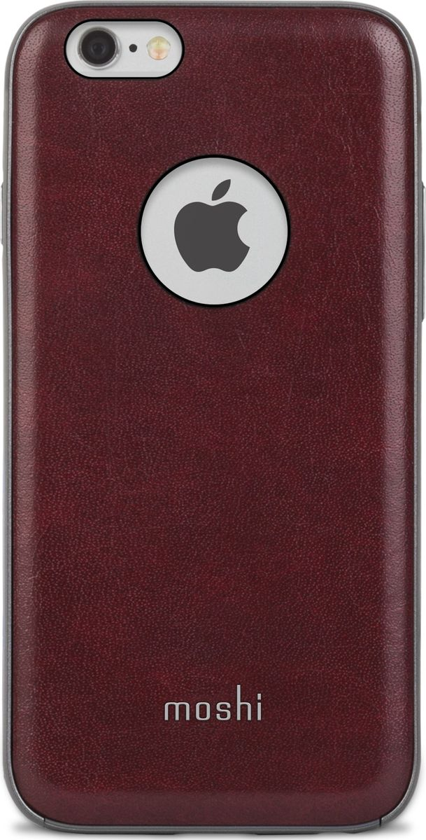 Moshi Napa кейс для iPhone 6/6S, Red чехол для iphone moshi iglaze napa charcoal black 99mo090003