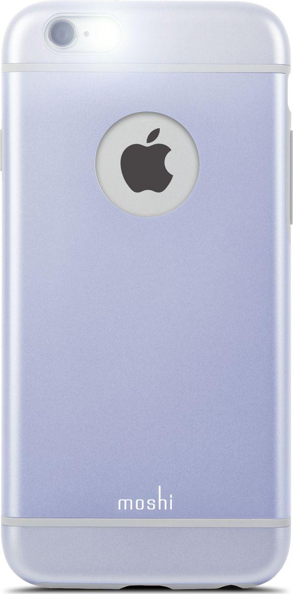 Moshi iGlaze чехол для iPhone 6/6s, Lavender Purple99MO079411Moshi iGlaze совмещает дизайн в стиле минимализма и максимальный уровень защиты гаджета, предохраняя iPhone от ударов, падений и царапин. Собственная гибридная конструкция с ударопоглощающим покрытием и противоударным каркасом. Легкий и долговечный чехол сохраняет эстетику оригинального iPhone. iGlaze обеспечивает защиту iPhone и идеально сочетается с его элегантным ненавязчивым дизайном.