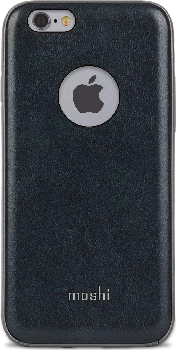 """Moshi Napa кейс для iPhone 6/6S, Blue99MO079521Благодаря используемым в производстве материалам высочайшего качества, Napa обеспечивает максимальный уровень защиты и подчёркивает элегантность вашего устройства. Чехол обладает гибридной конструкцией нашей собственной разработки: ударопоглощающая рамка внутри и небьющаяся оболочка снаружи. Эта конструкция надежно защищает устройство при ударах и падениях. Napa, изготовленная из веган кожи с алюминиевой вставкой, изысканна и элегантна. Это прекрасный выбор для потребителей, стремящихся обеспечить наилучший уровень безопасности для своего устройства.ХарактеристикиВеган кожа премиум класса.Гибридная конструкция, защищающая устройство от ударов и падений.Приподнятые края чехла позволяют безопасно класть телефон экраном вниз.""""Flash-friendly"""", нет необходимости извлекать iPhone, чтобы сделать снимок или снять видео.Модет быть использован со съемным аккумулятором Moshi iGlaze Ion для iPhone 6"""
