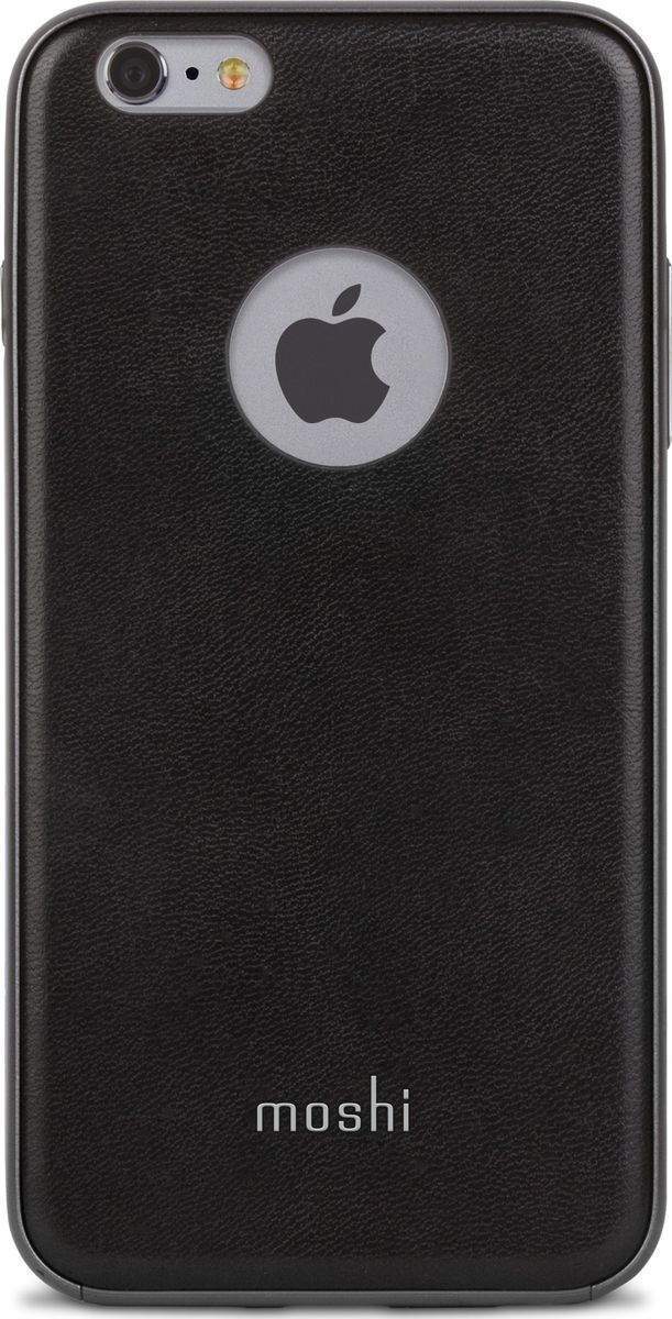 """Moshi Napa кейс для iPhone 6 Plus/6S Plus, Black99MO080002Благодаря используемым в производстве материалам высочайшего качества, Napa обеспечивает максимальный уровень защиты и подчёркивает элегантность вашего устройства. Чехол обладает гибридной конструкцией нашей собственной разработки: ударопоглощающая рамка внутри и небьющаяся оболочка снаружи. Эта конструкция надежно защищает устройство при ударах и падениях. Napa, изготовленная из веган кожи с алюминиевой вставкой, изысканна и элегантна. Это прекрасный выбор для потребителей, стремящихся обеспечить наилучший уровень безопасности для своего устройства.ХарактеристикиВеган кожа премиум класса.Гибридная конструкция, защищающая устройство от ударов и падений.Приподнятые края чехла позволяют безопасно класть телефон экраном вниз.""""Flash-friendly"""", нет необходимости извлекать iPhone, чтобы сделать снимок или снять видео."""