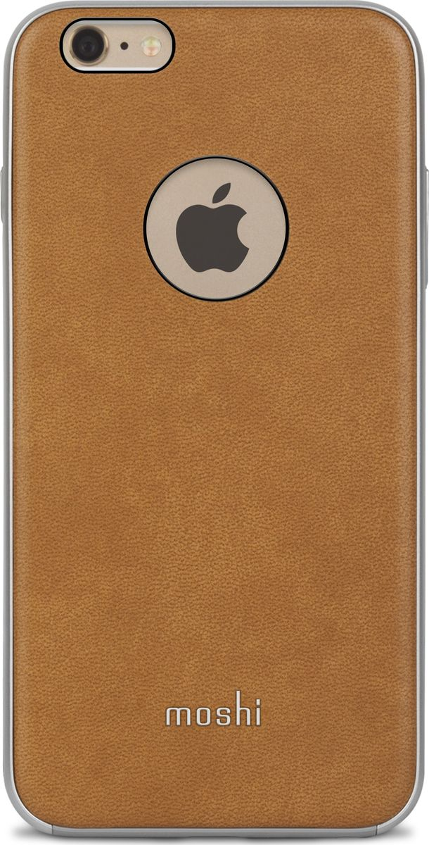 Moshi Napa чехол для iPhone 6 Plus/6s Plus, Beige чехол для iphone moshi iglaze napa charcoal black 99mo090003