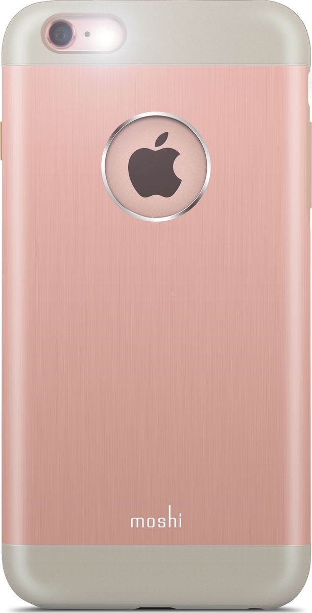 Moshi Armour чехол для iPhone 6 Plus/6S Plus, Golden Rose футболка спортивная under armour under armour un001emtvp51