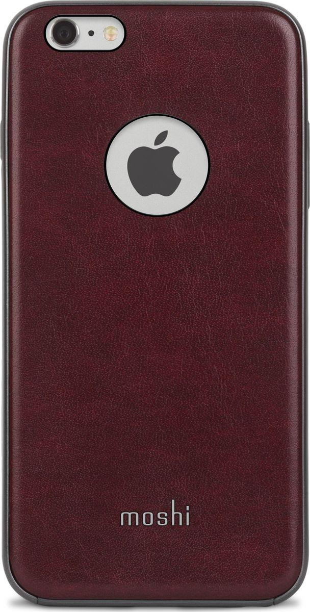 Moshi Napa чехол для iPhone 6 Plus/6S Plus, Red99MO080321Благодаря используемым в производстве материалам высочайшего качества, Moshi Napa обеспечивает максимальный уровень защиты и подчёркивает элегантность вашего устройства. Чехол обладает гибридной конструкцией благодаря особой технологии: ударопоглощающая рамка внутри и небьющаяся оболочка снаружи. Эта конструкция надежно защищает устройство при ударах и падениях. Napa, изготовленная из веган кожи с алюминиевой вставкой, изысканна и элегантна. Это прекрасный выбор для потребителей, стремящихся обеспечить наилучший уровень безопасности для своего устройства.