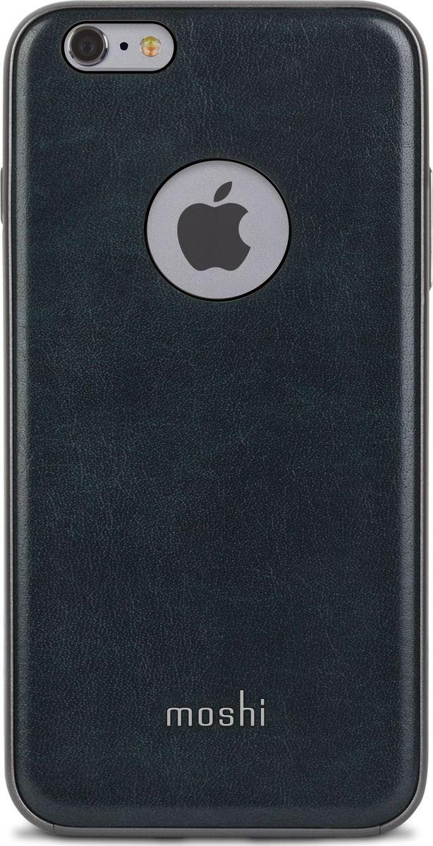 Moshi Napa чехол для iPhone 6 Plus/6s Plus, Blue99MO080521Благодаря используемым в производстве материалам высочайшего качества, Moshi Napa обеспечивает максимальный уровень защиты и подчёркивает элегантность вашего устройства. Чехол обладает гибридной конструкцией благодаря особой технологии: ударопоглощающая рамка внутри и небьющаяся оболочка снаружи. Эта конструкция надежно защищает устройство при ударах и падениях. Napa, изготовленная из веган кожи с алюминиевой вставкой, изысканна и элегантна. Это прекрасный выбор для потребителей, стремящихся обеспечить наилучший уровень безопасности для своего устройства.