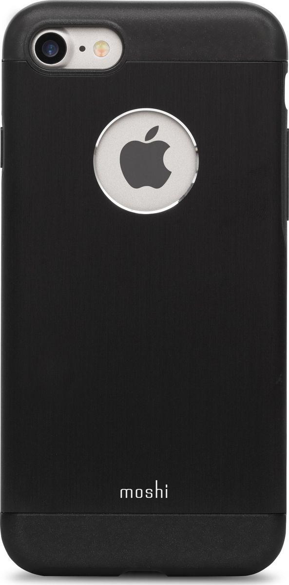 Moshi Armour чехол для iPhone 7/8, Onyx Black under armour un001emojf76