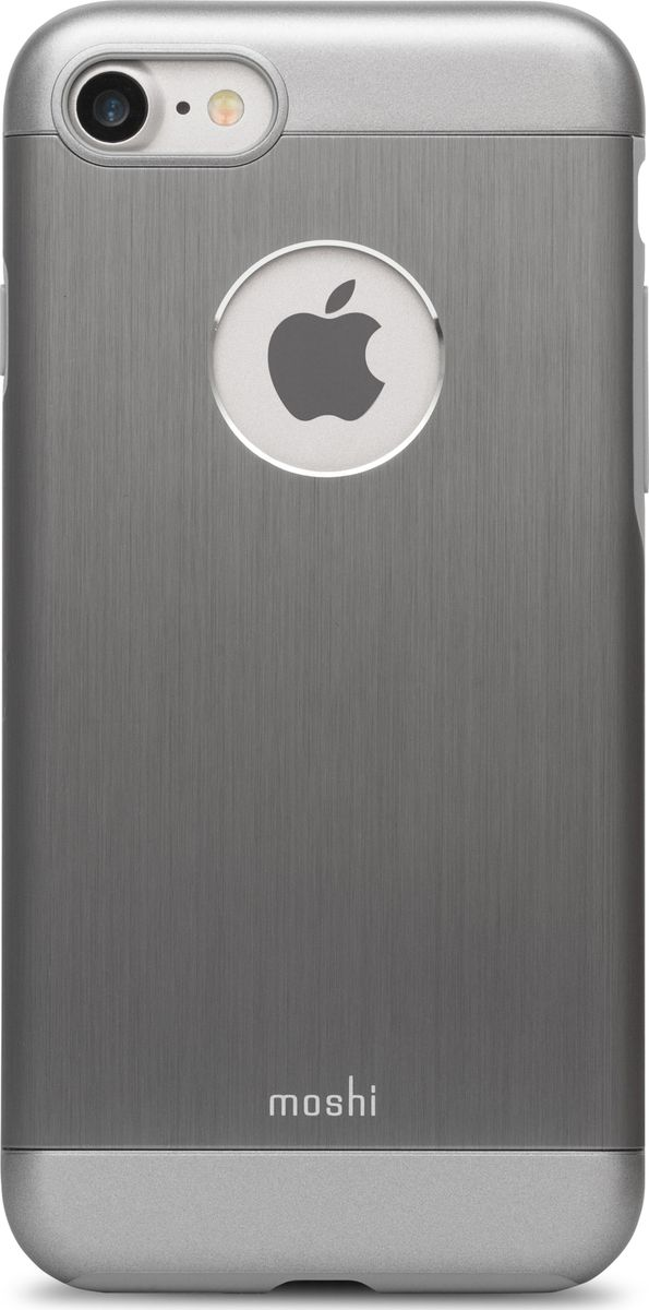 все цены на Moshi Armour чехол для iPhone 7/8, Gunmetal Gray онлайн